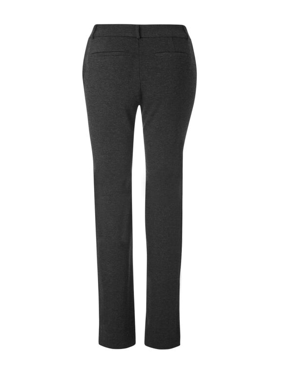 Charcoal Long Comfort Stretch Pant, Charcoal, hi-res
