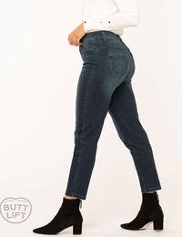 Vintage Wash Butt Lift Slim Jean