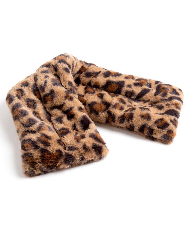 Leopard Print Heated Neck Pillow, Leopard