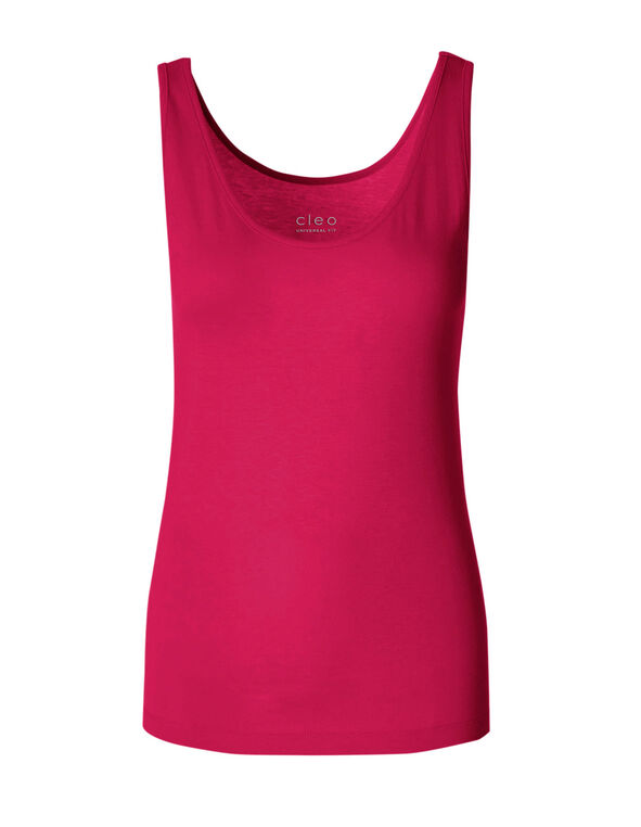 Hot Pink Layering Cami, Hot Pink, hi-res