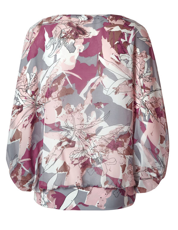 Misty Rose Floral Blouse, Misty Rose, hi-res