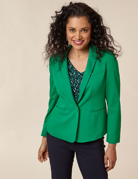Emerald Blazer, Green/Emerald, hi-res