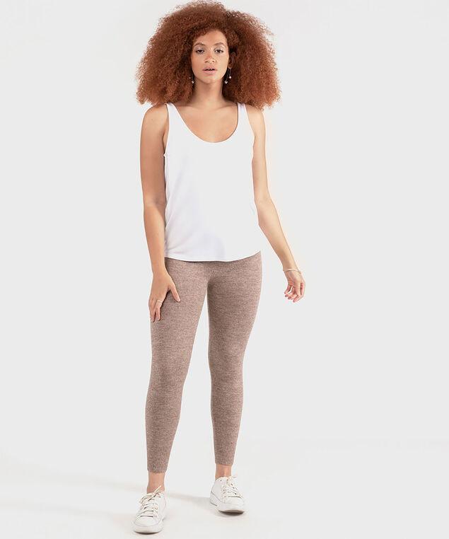 Dex Sweater Knit Legging, Taupe