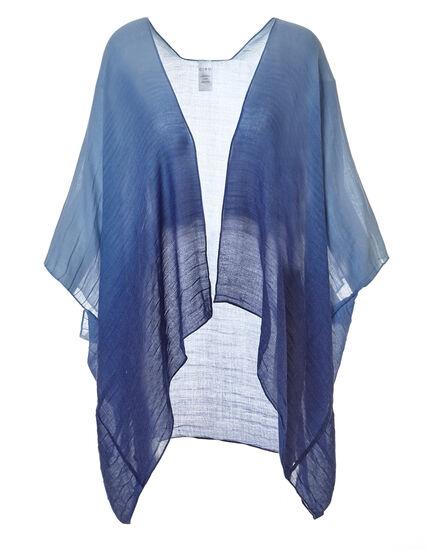 Navy Dip Dye Kimono, Navy, hi-res