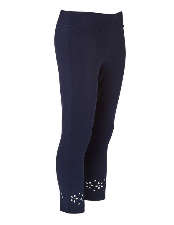 Navy Cotton Legging, Navy, hi-res