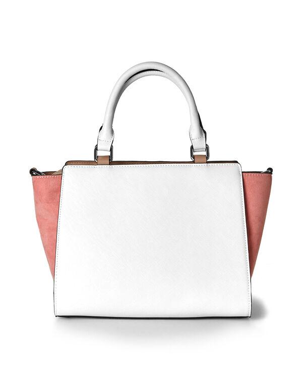 4c0483087869 Colour Blocked Winged Handbag