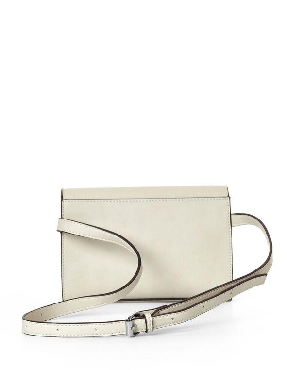 Neutral Blocked Belted Bag, Neutral, hi-res