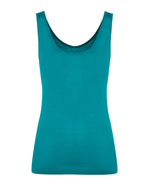 Summer Turquoise Universal Layering Cami, Summer Turquoise, hi-res
