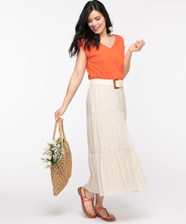 Stone Peasant Skirt, Stone