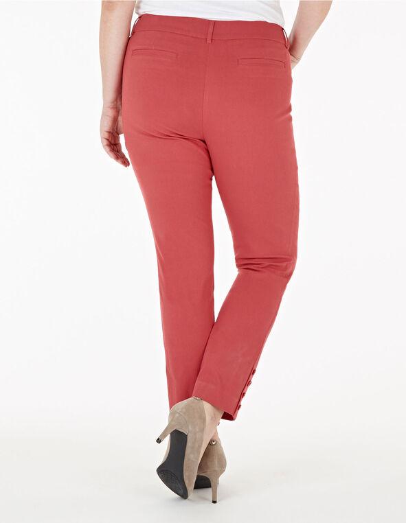 Grapefruit Slim Leg Ankle Pant, Pink, hi-res