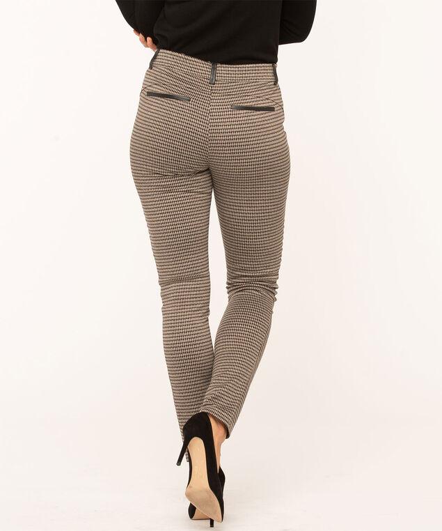 Camel Print Moto-Style Legging, Camel/Black
