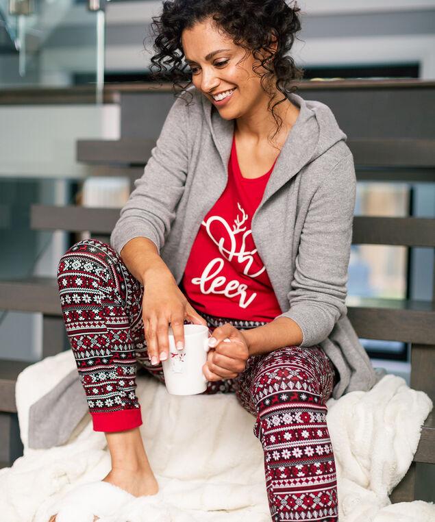 Fair Isle Pajama Look, , hi-res