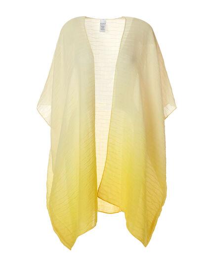 Yellow Ombre Kimono, Yellow, hi-res
