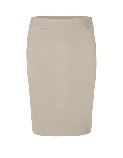 Stone Pull On Pencil Skirt, Beige, hi-res
