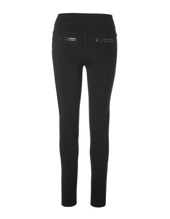 Black Moto Legging, Black, hi-res
