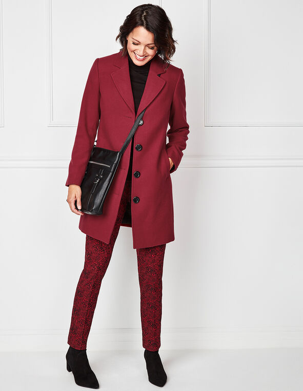 Red Slimming cleo Signature Pant ®, Red, hi-res