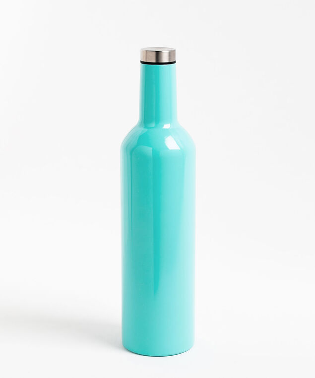 Insulated Wine Thermos, Blue