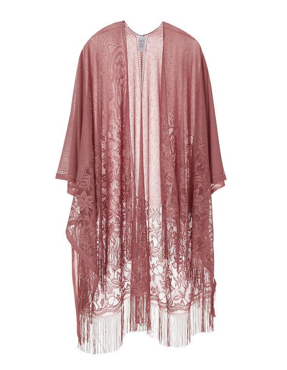 Pink Lace Kimono, Pink, hi-res
