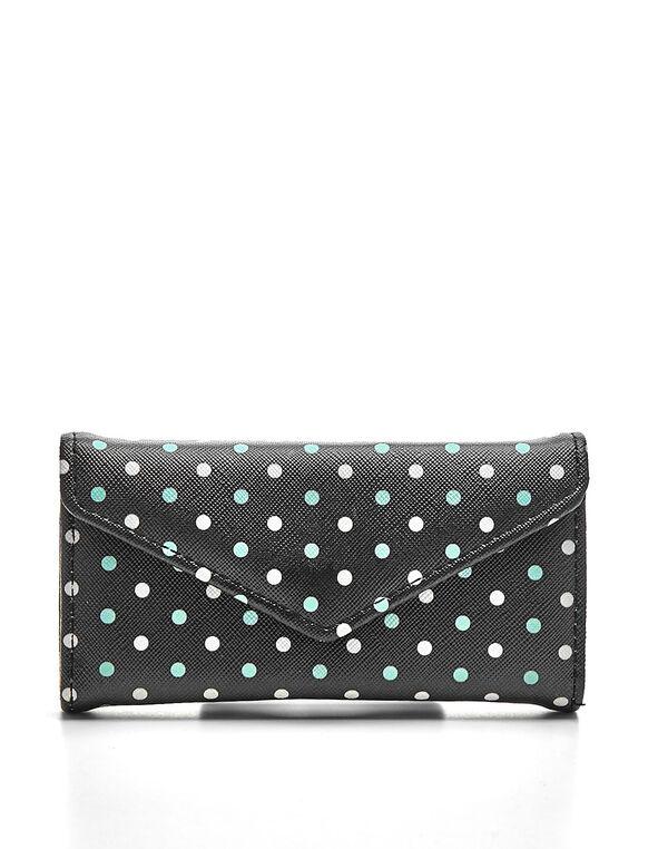 Black Aqua Dot Manicure Kit, Black, hi-res