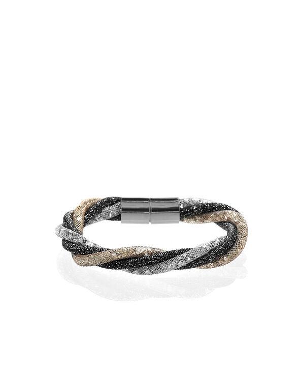 Shimmer Twist Magnetic Bracelet, Neutral, hi-res