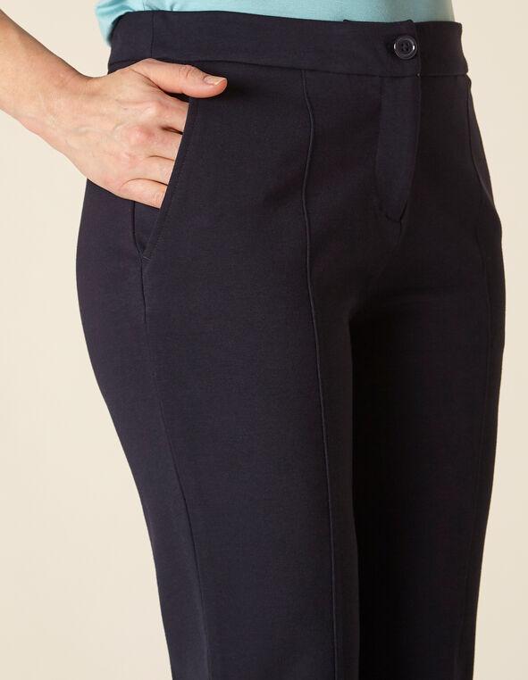 Navy Straight Leg Pant, Navy, hi-res