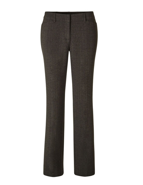 Brown Favourite Trouser Pant, Brown, hi-res
