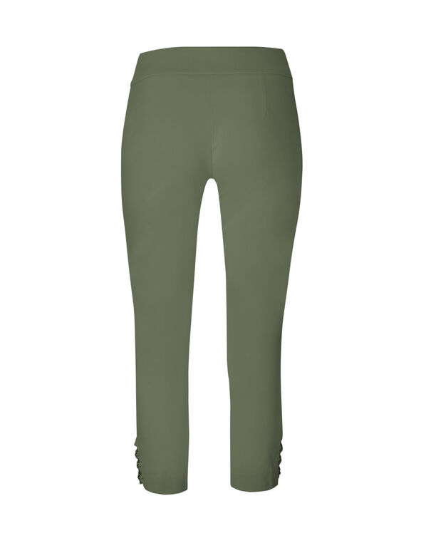 Olive Ankle Pull On Pant, Olive, hi-res