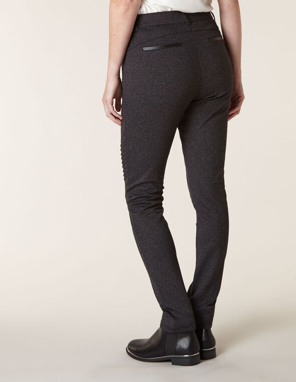 Charcoal Moto Pull On Legging, Charcoal, hi-res