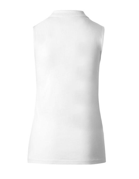 White Polo Tee, White, hi-res