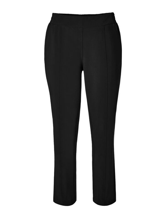 Black On The Go Ankle Pant, Black, hi-res