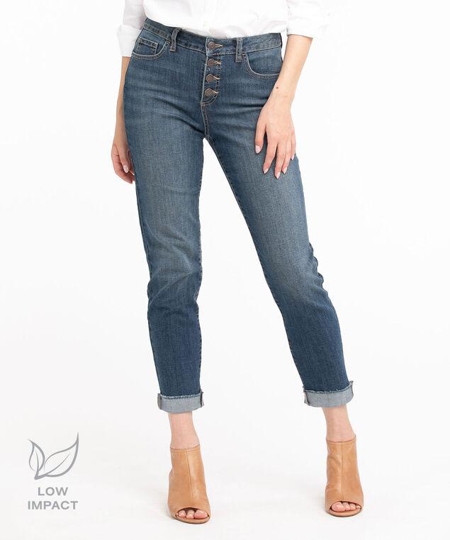 Low Impact Ankle Jean, Vintage Wash