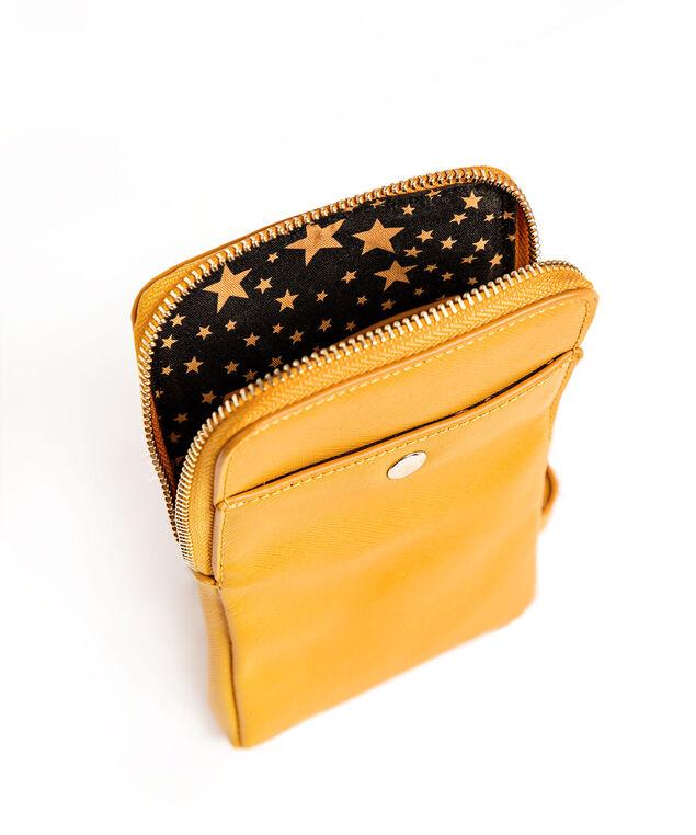 Yellow Phone Crossbody Bag, Marigold