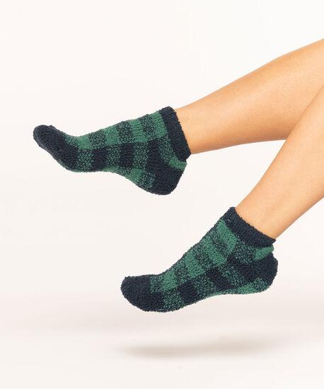 Super Soft Blackwatch Sock 2-Pack, Grey/Navy/Green, hi-res