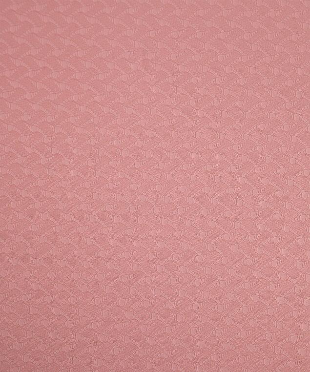 Reversible Textured Yoga Mat, Pink