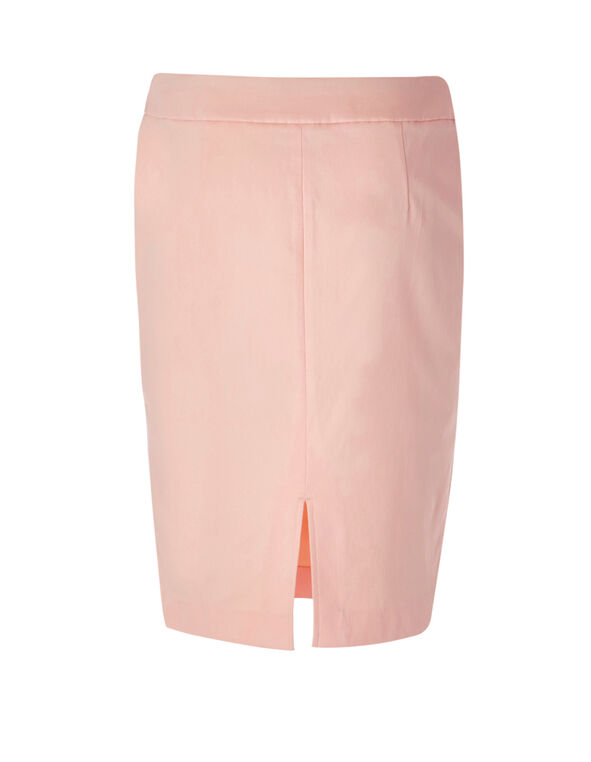 Seashell Cleo Signature Pencil Skirt, Seashell Pink, hi-res