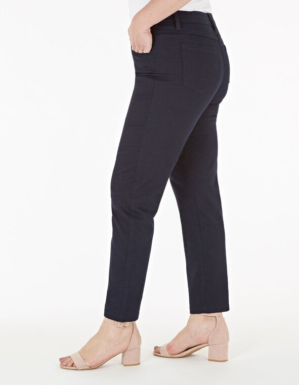 Navy Ankle Jean, Navy, hi-res