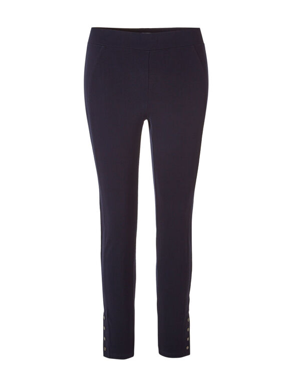 Navy Snap Legging, Navy, hi-res