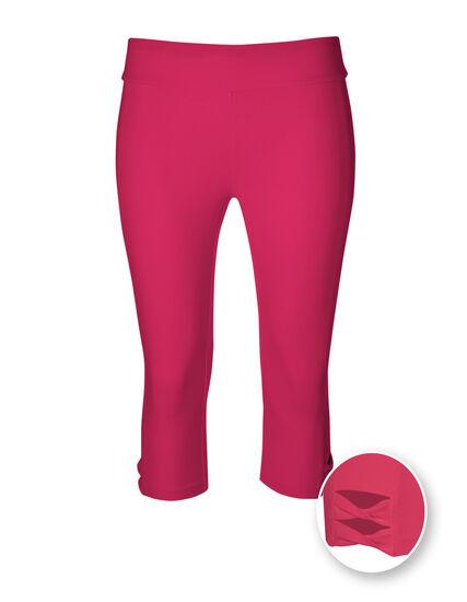 Hot Pink Cotton Skimmer Legging, Hot Pink, hi-res