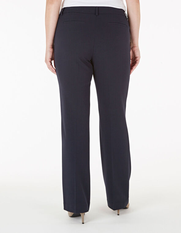 Navy Soft Trouser Pant, Navy, hi-res