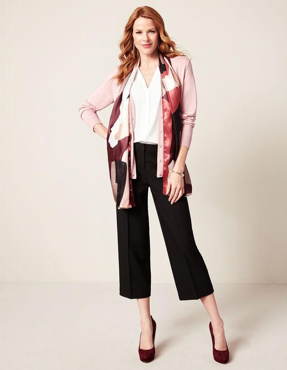 Rose Pink Mid Cardigan, Rose Pink, hi-res