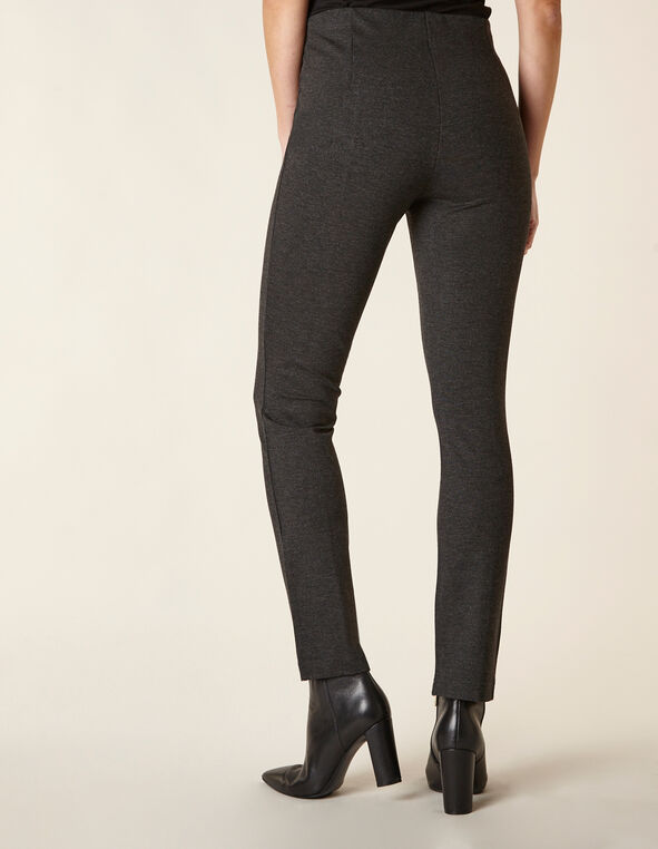 Charcoal Front Seam Legging, Charcoal, hi-res