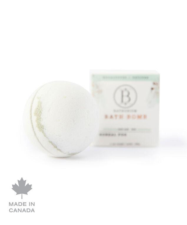 Boreal Fog Bath Bomb, White