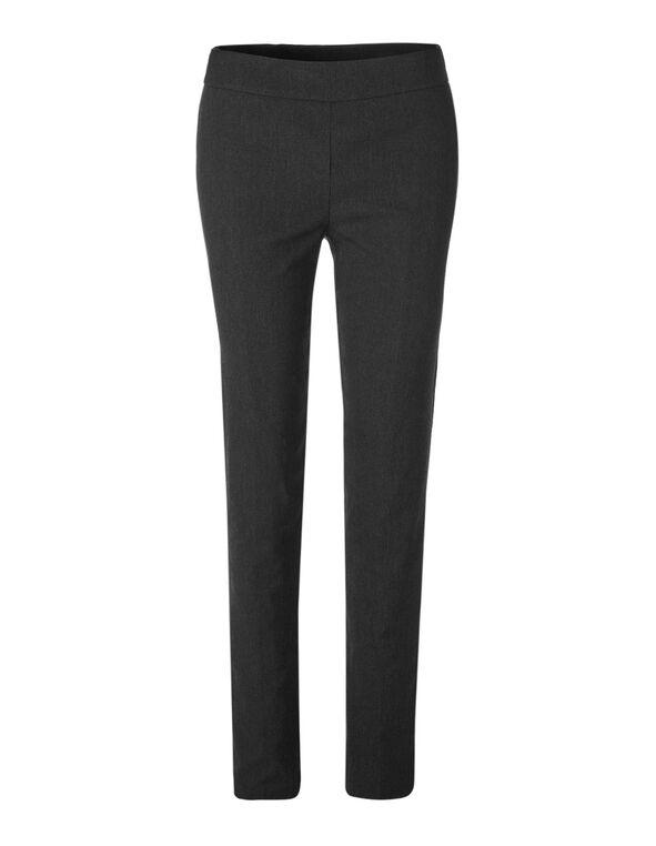 Cleo Signature Striped X-Long Pant, Black/Neutral, hi-res