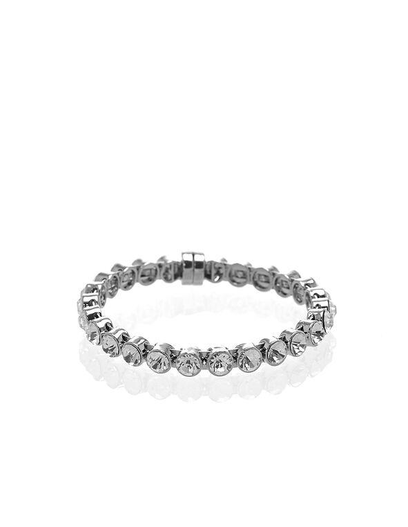 Silver Magnetic Bracelet, Silver, hi-res