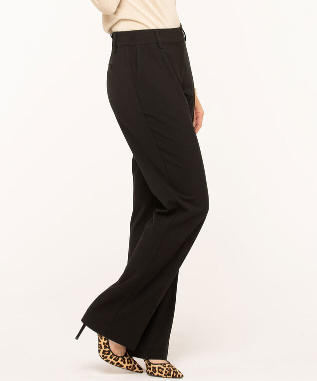 Black Trouser Pant - Long , Black, hi-res