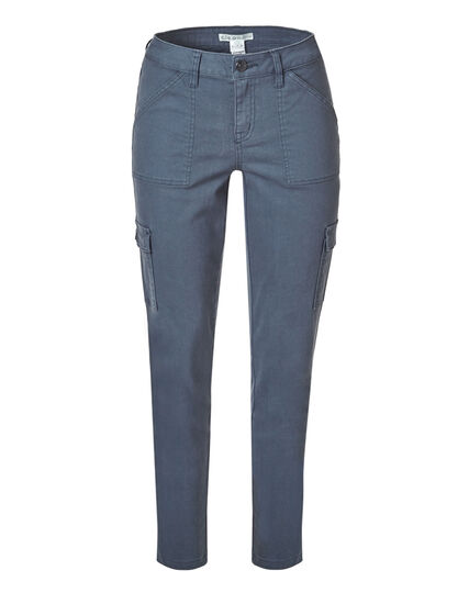 Blue Cargo Slim Leg Jean, Smoky Blue, hi-res