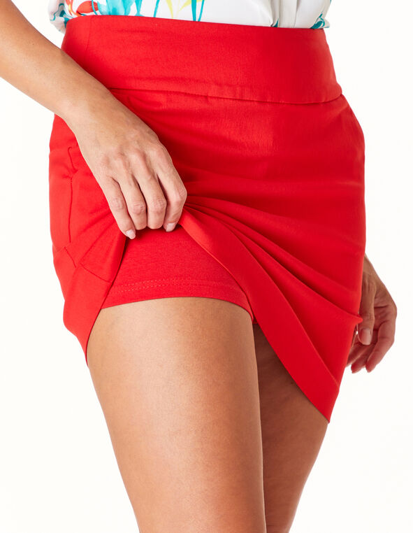 Cherry Skort, Red, hi-res
