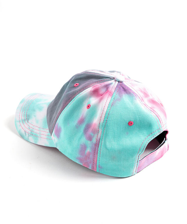 Tie-Dye Baseball Cap, Blue