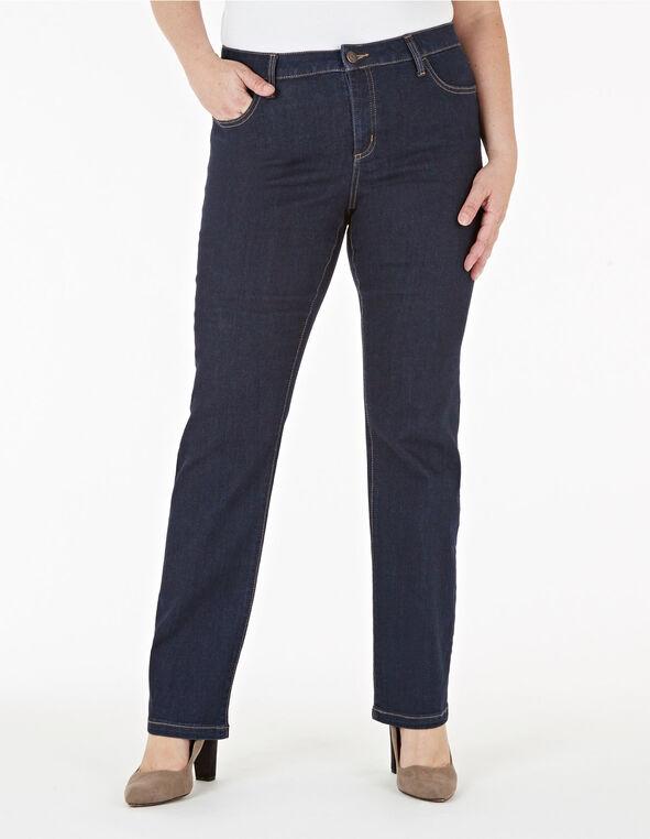 Dark Wash Straight Leg Jean, Dark Wash, hi-res