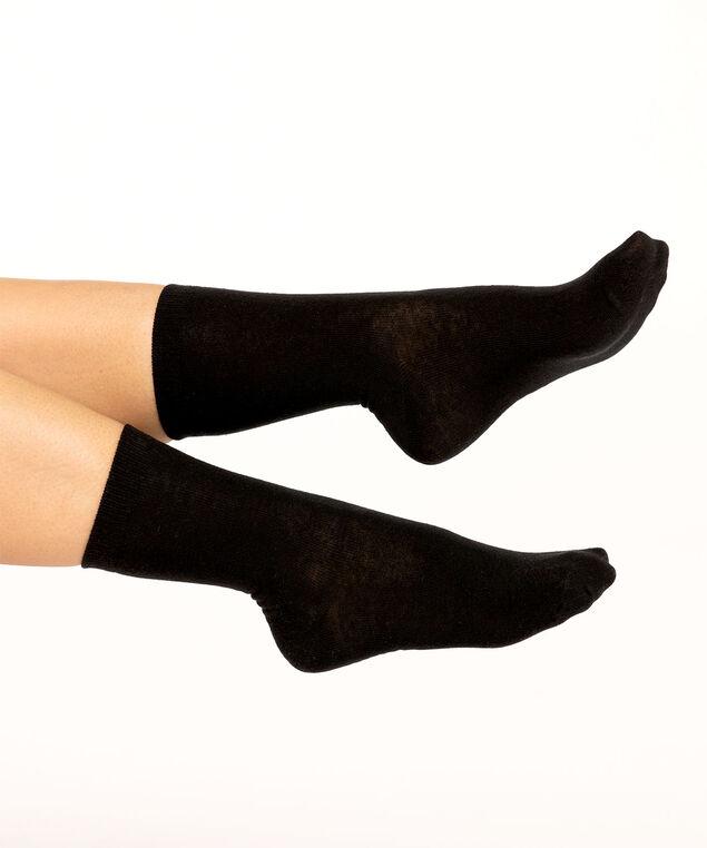 Black Crew Sock, Black